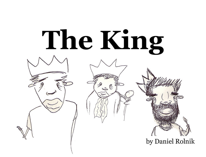 "Cover of ""The King"" (2012) by Daniel Rolnik"