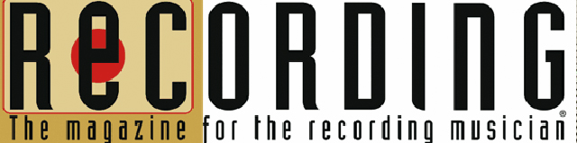 "Masthead for ""Recording Magazine"""