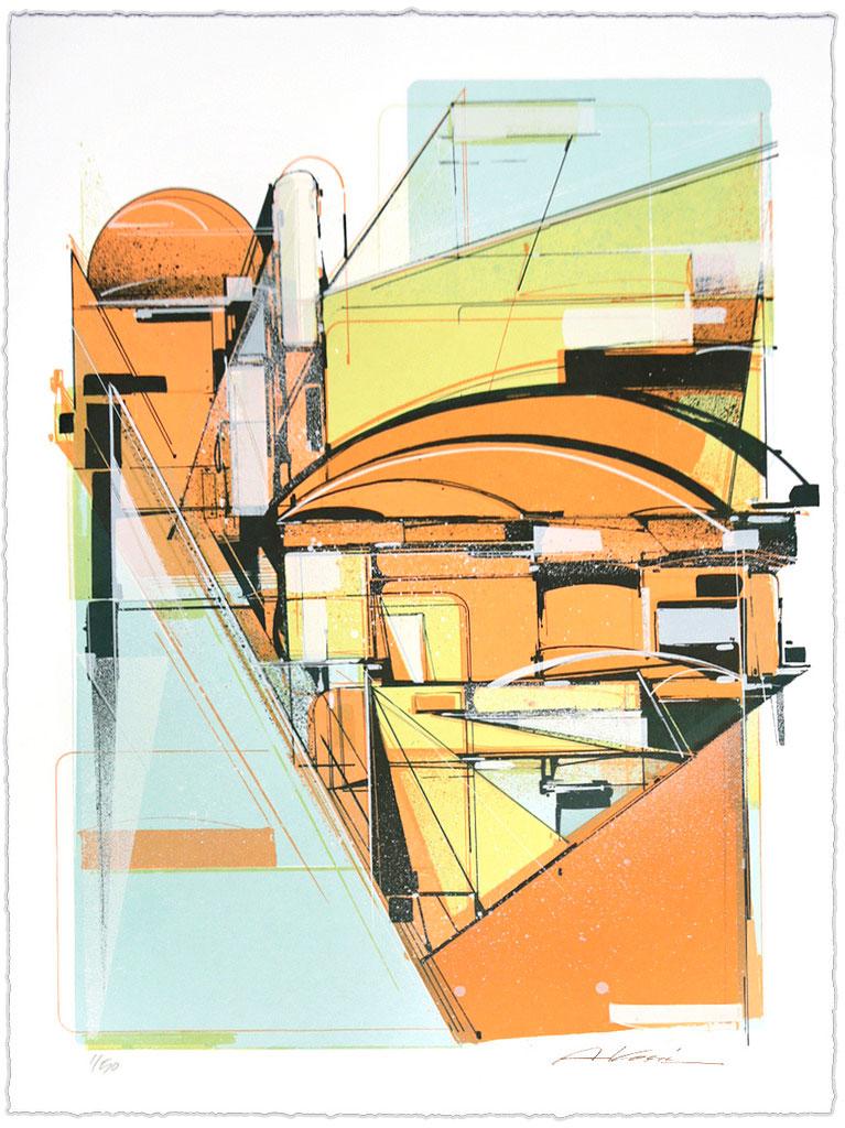 Print by Augustine Kofie