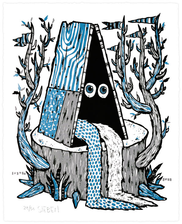 Print by Michael Sieben