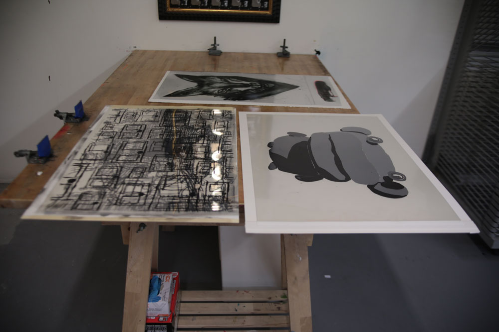 Unfinished Prints by Jay Stuckey, Peter Opheim, and TwoOne Elephant