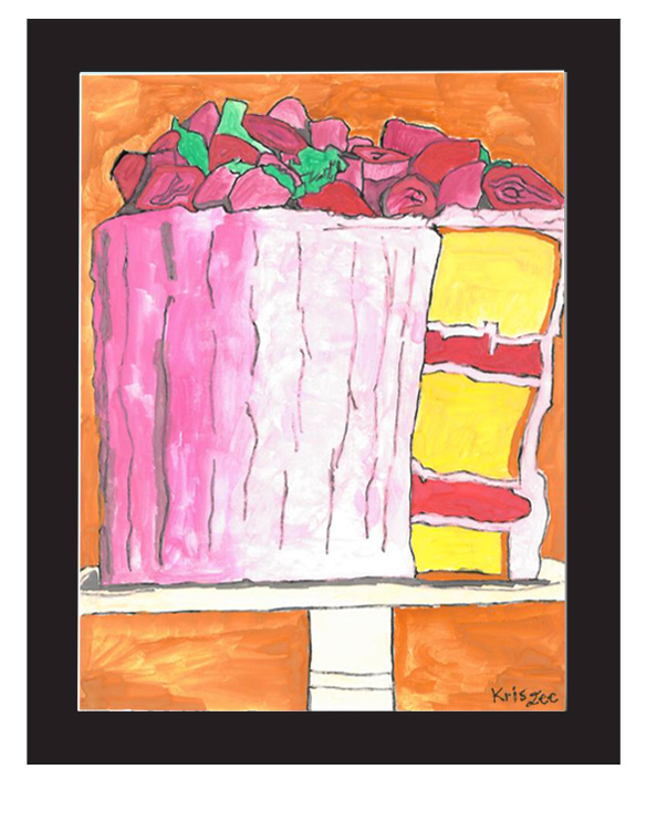 """""""Cake"""" by Kris Lee (of L.A. Goal)"""
