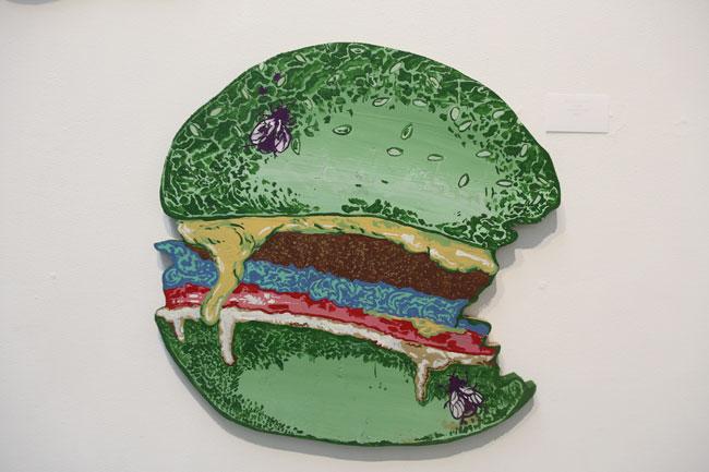 """Burger"" by Jamie Polancic"