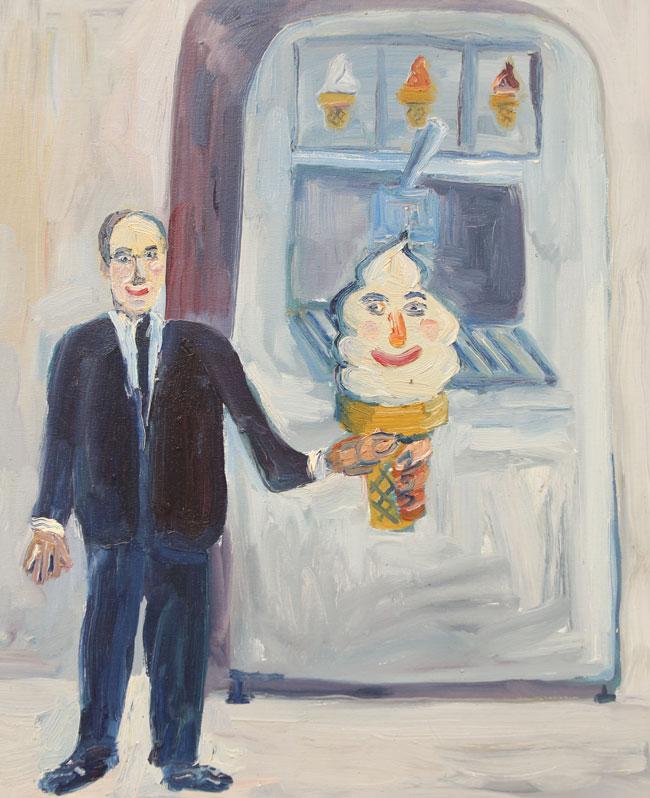 """Self Serve Self Portrait"" by John Kilduff"