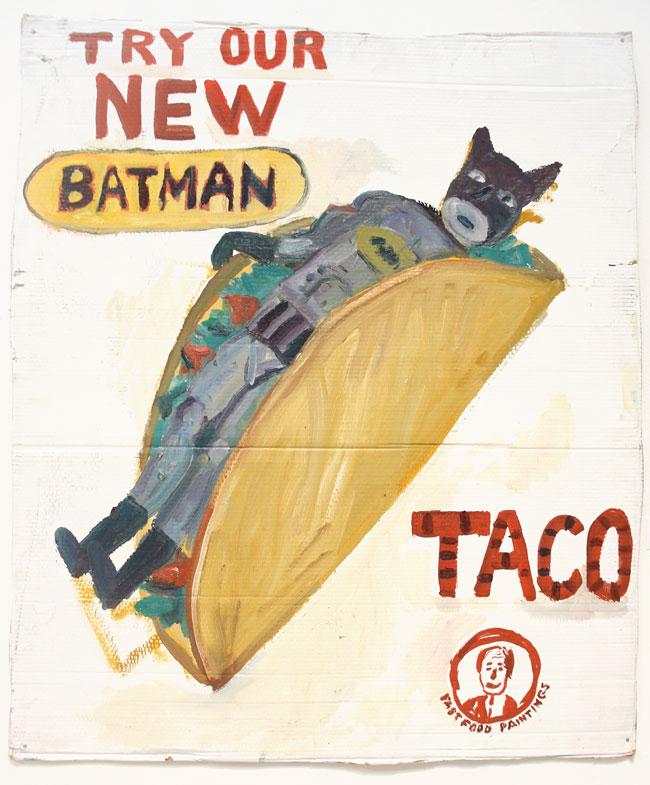 """Batman Taco"" by John Kilduff"