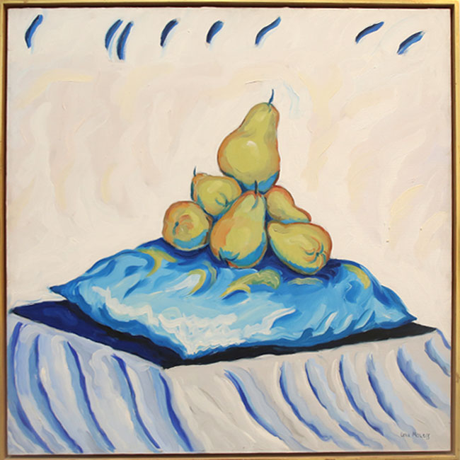 """""""Pears on Pillow"""" by Lena Moross"""
