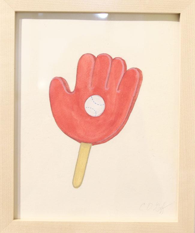 """Ice Cream Sandwich - Baseball"" by Charlotte Goff"