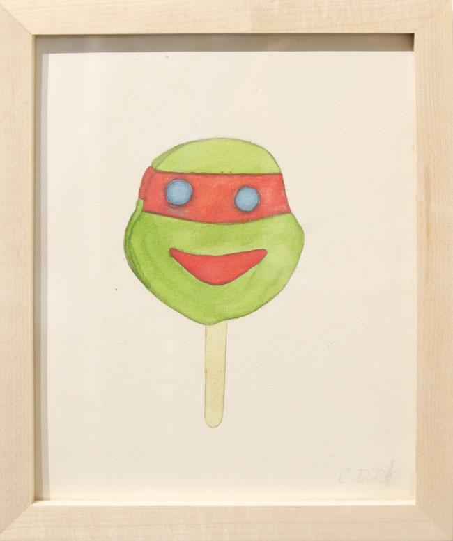 """Ice Cream Sandwich - Ninja Turtle"" by Charlotte Goff"