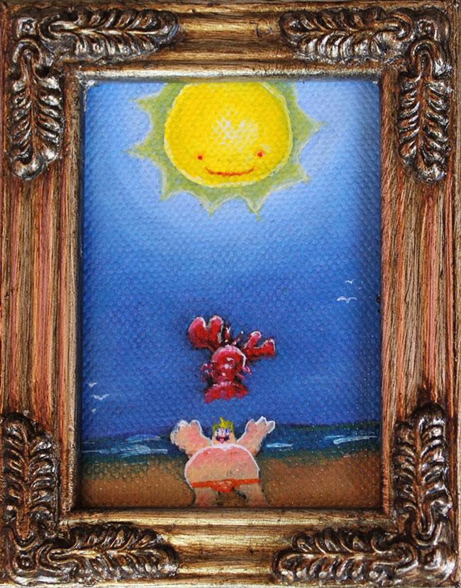 """Lobstah Roll"" by Mike Boston"