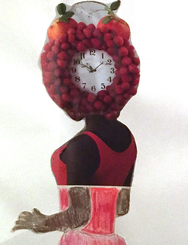 """Raspberry Time"" by Susan Taylor (of L.A. Goal)"