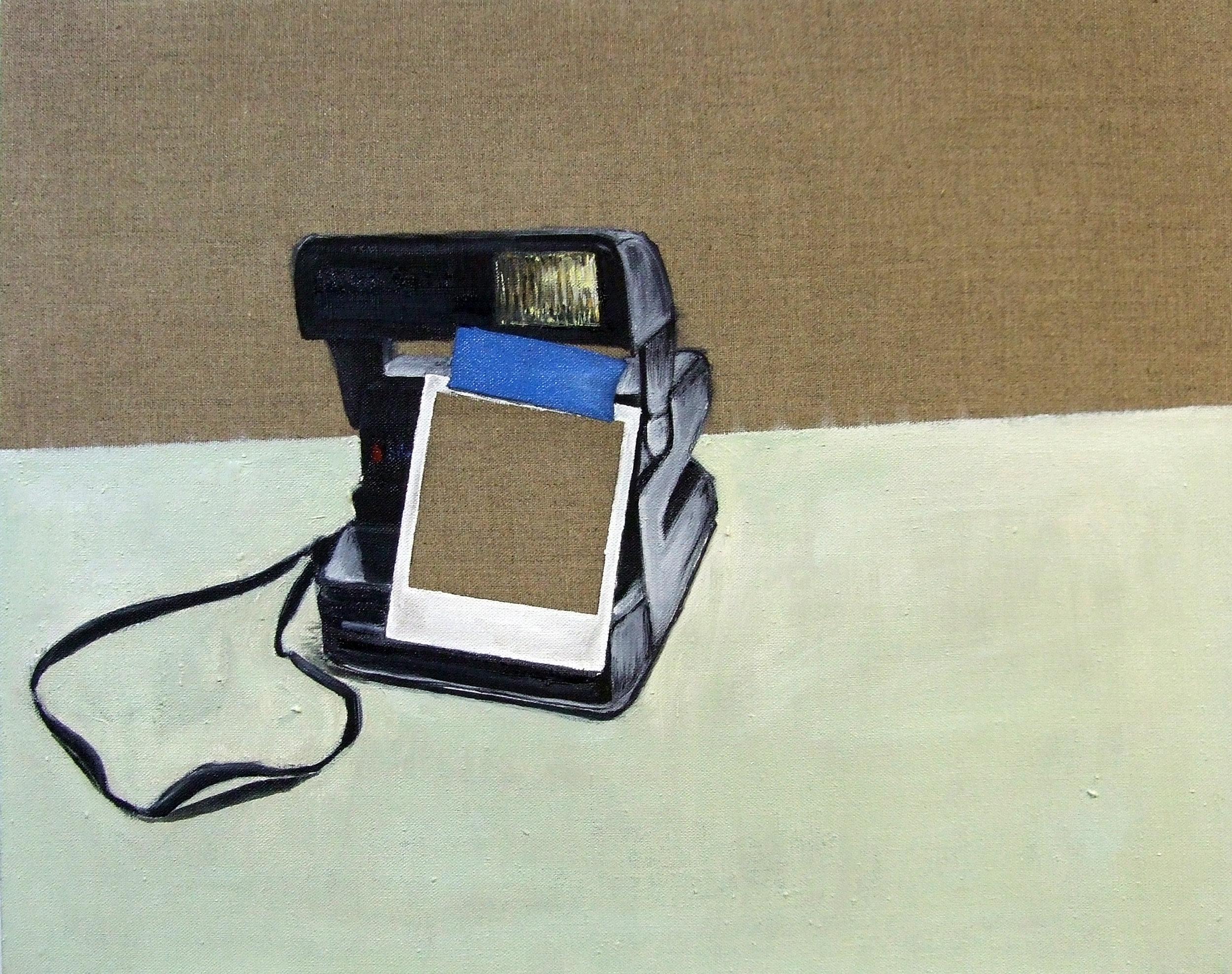 A polaroid of a polaroid of a