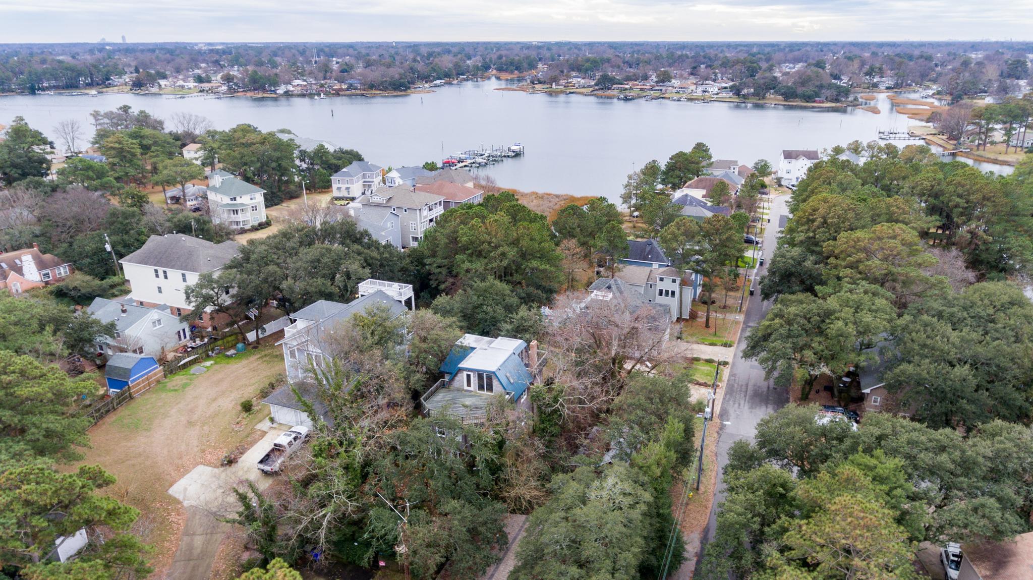 Newport News Aerial Drone Photo