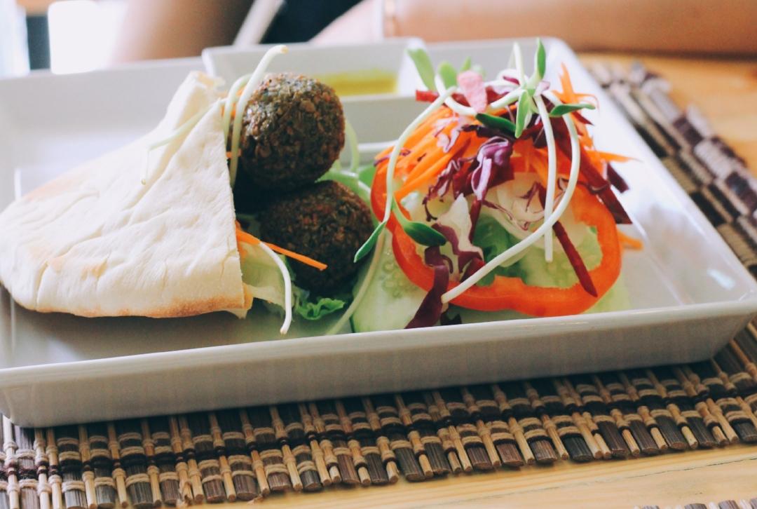 vegan, chiang mai, thailand, falafel, healthy