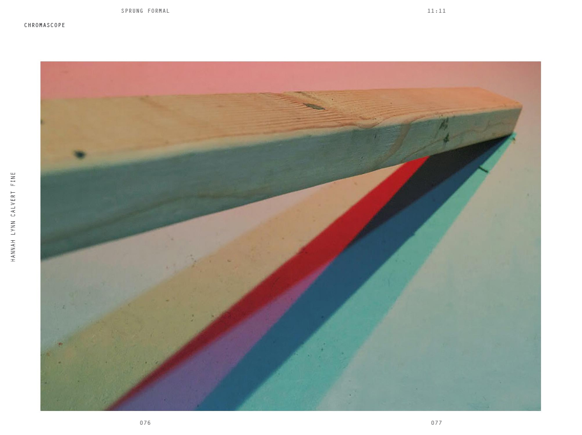 Sprung Formal Literary Arts Journal Issue 11 -  11: 11