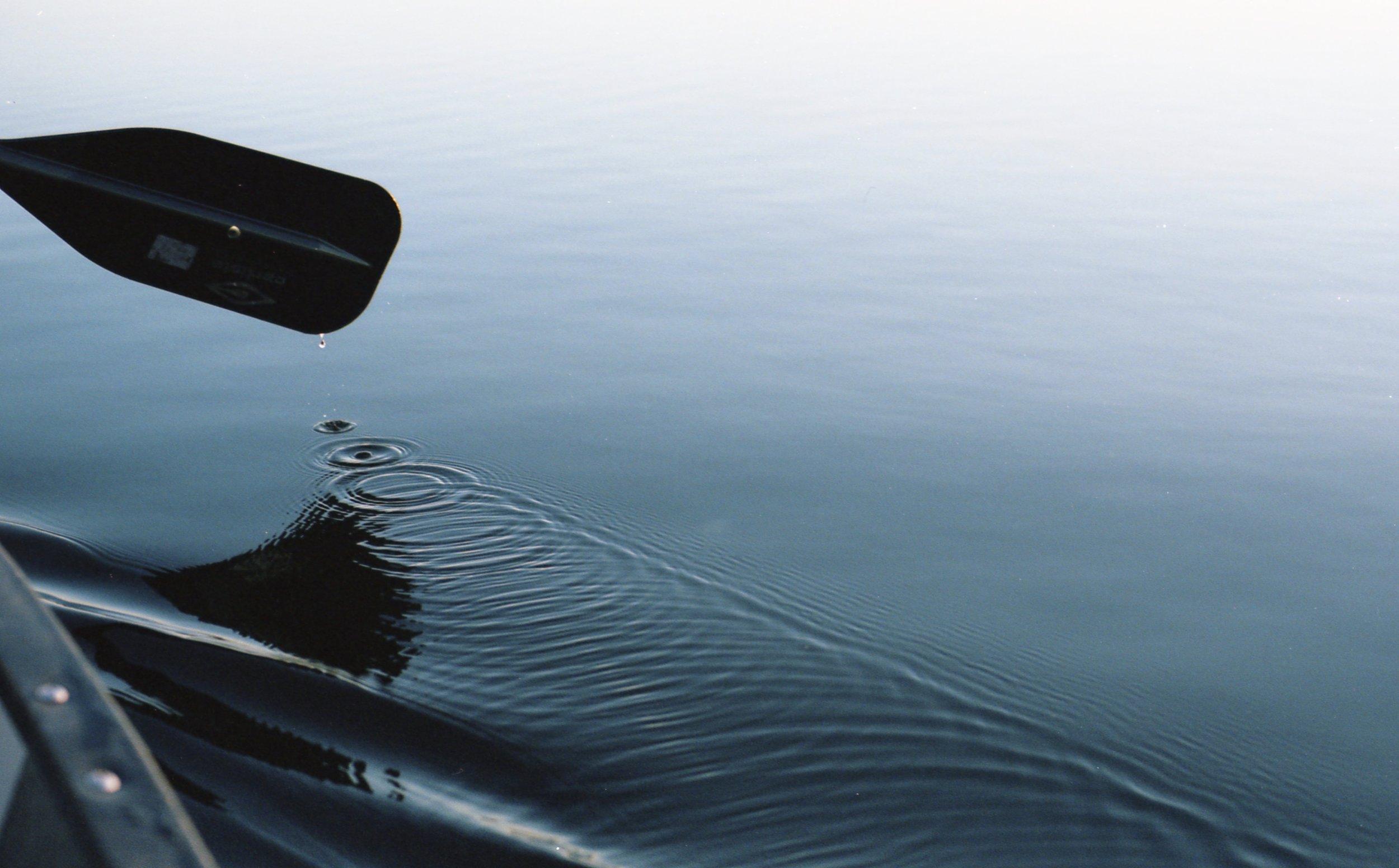 Break from rowing on Black Lake, MI.Summer 2016. (Portra 400)