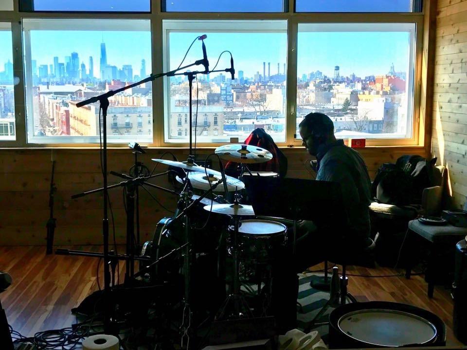 Recording in Williamsburg, BK
