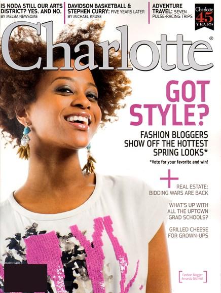 Charlotte Magazine, Mar 2013