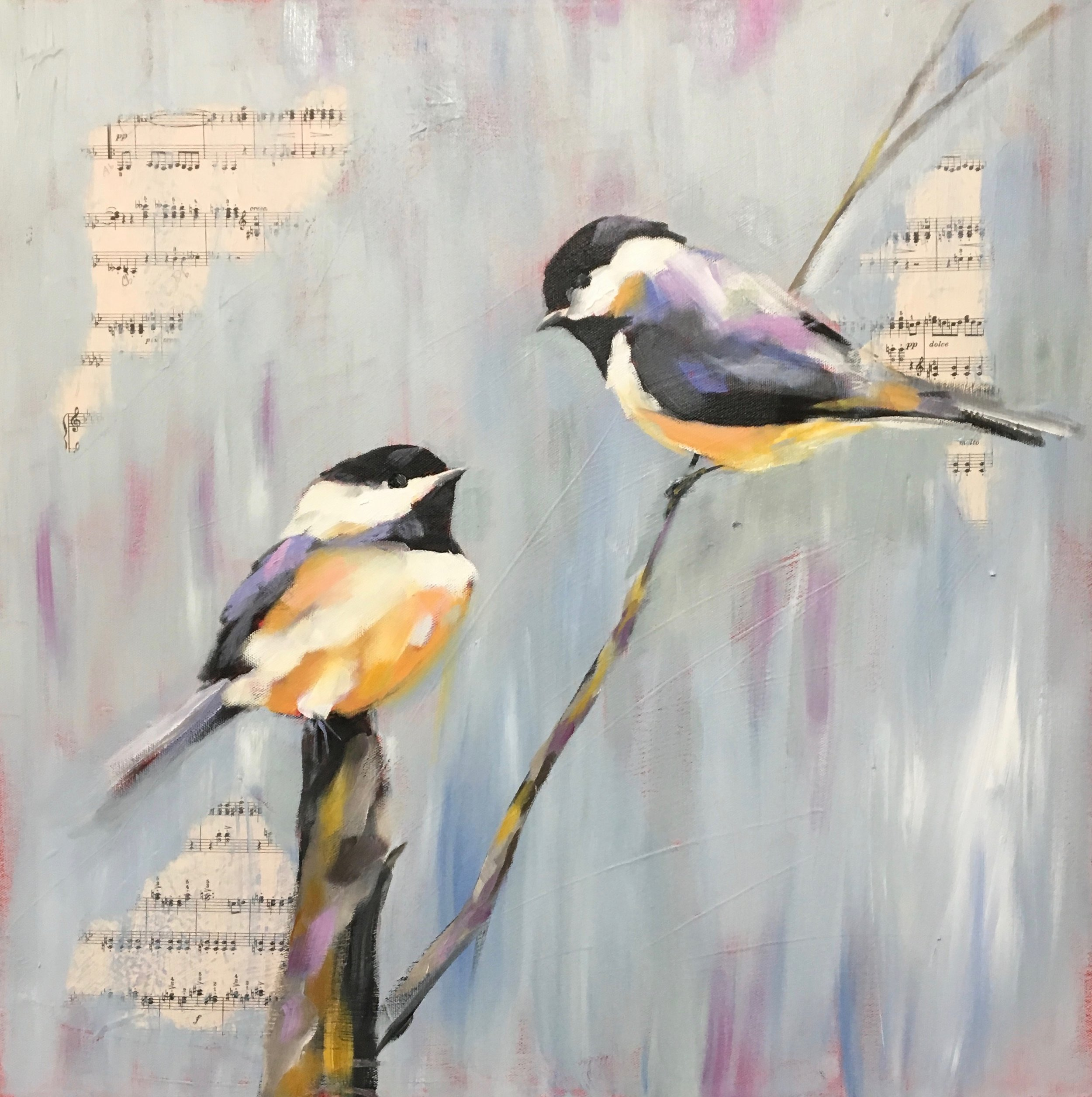 CHICKADEE LOVE/SOLD