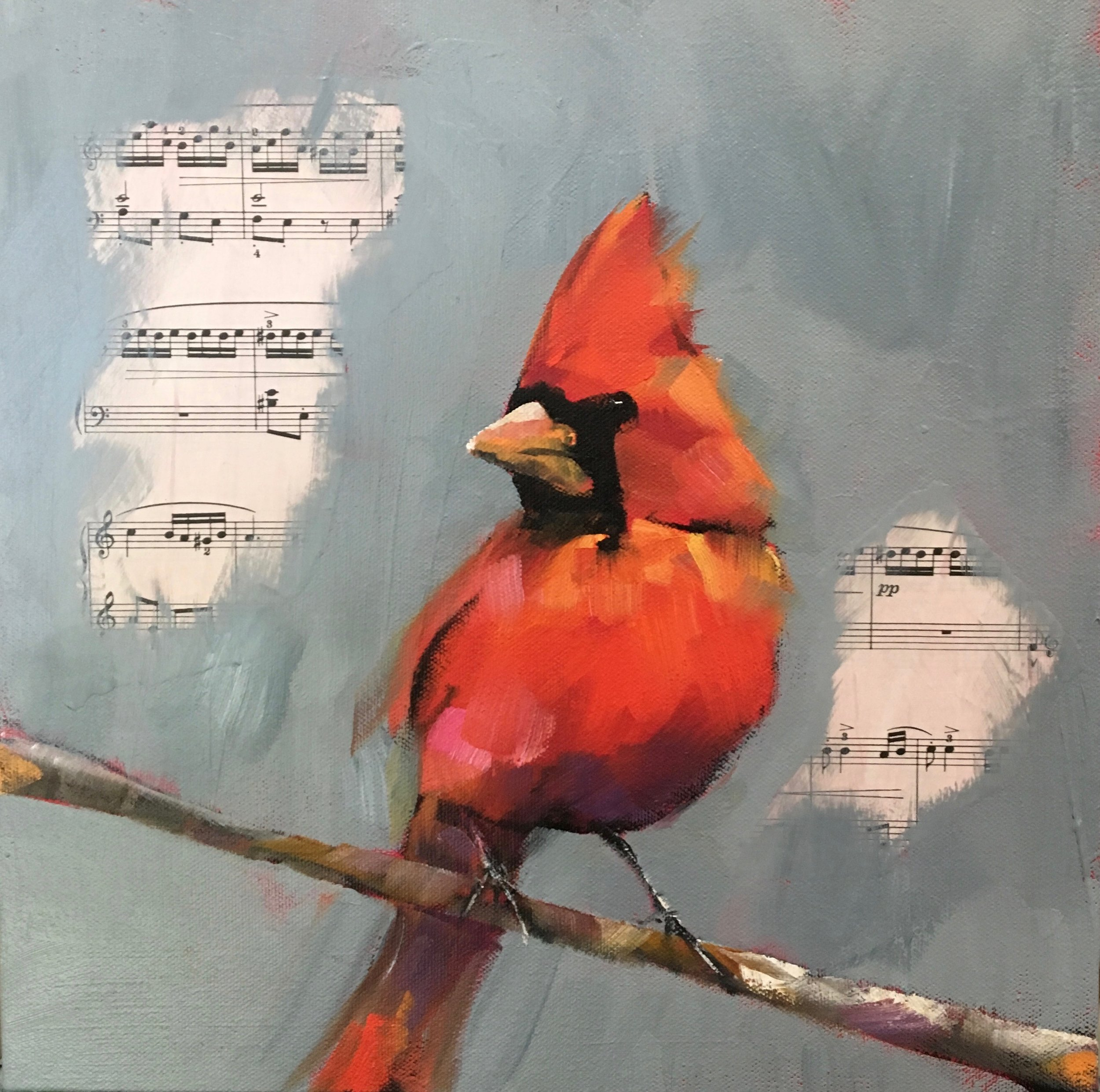 AUTUMN CARDINAL, SOLD