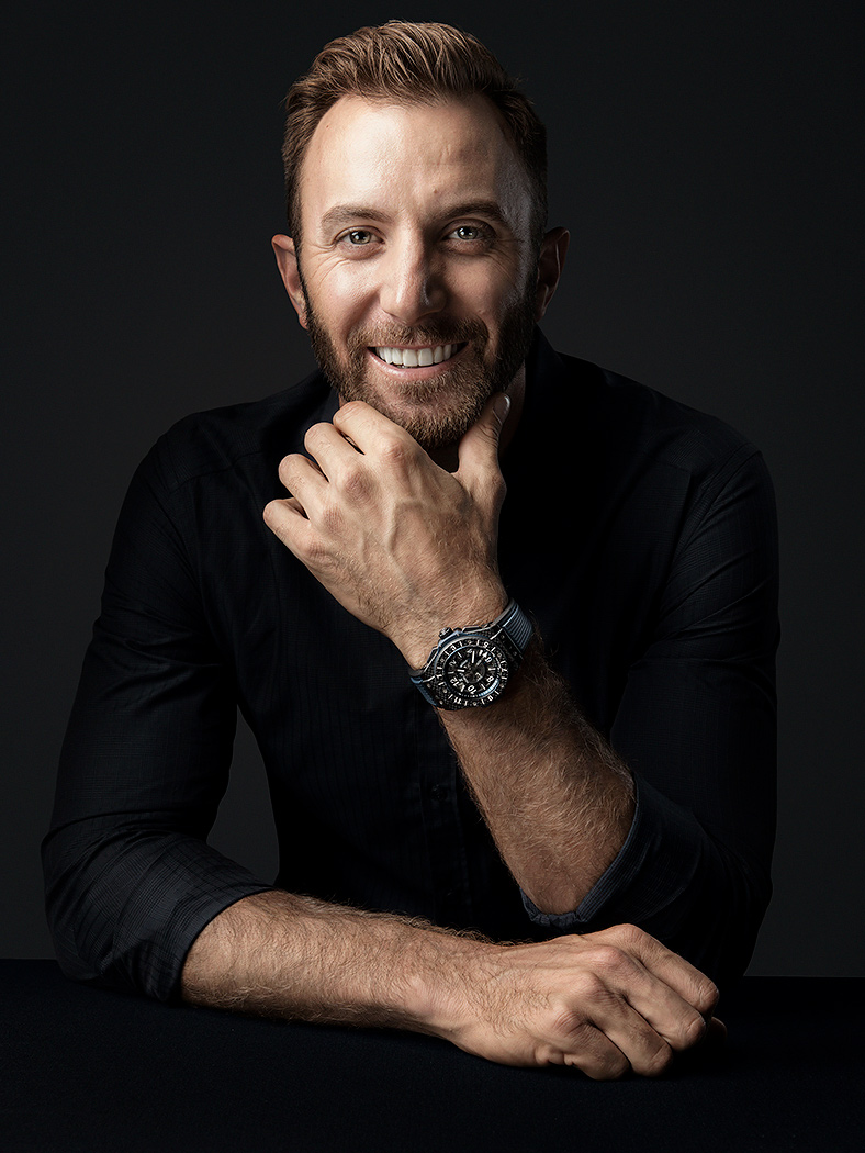 Dustin Johnson for Hublot - Professional Golfer