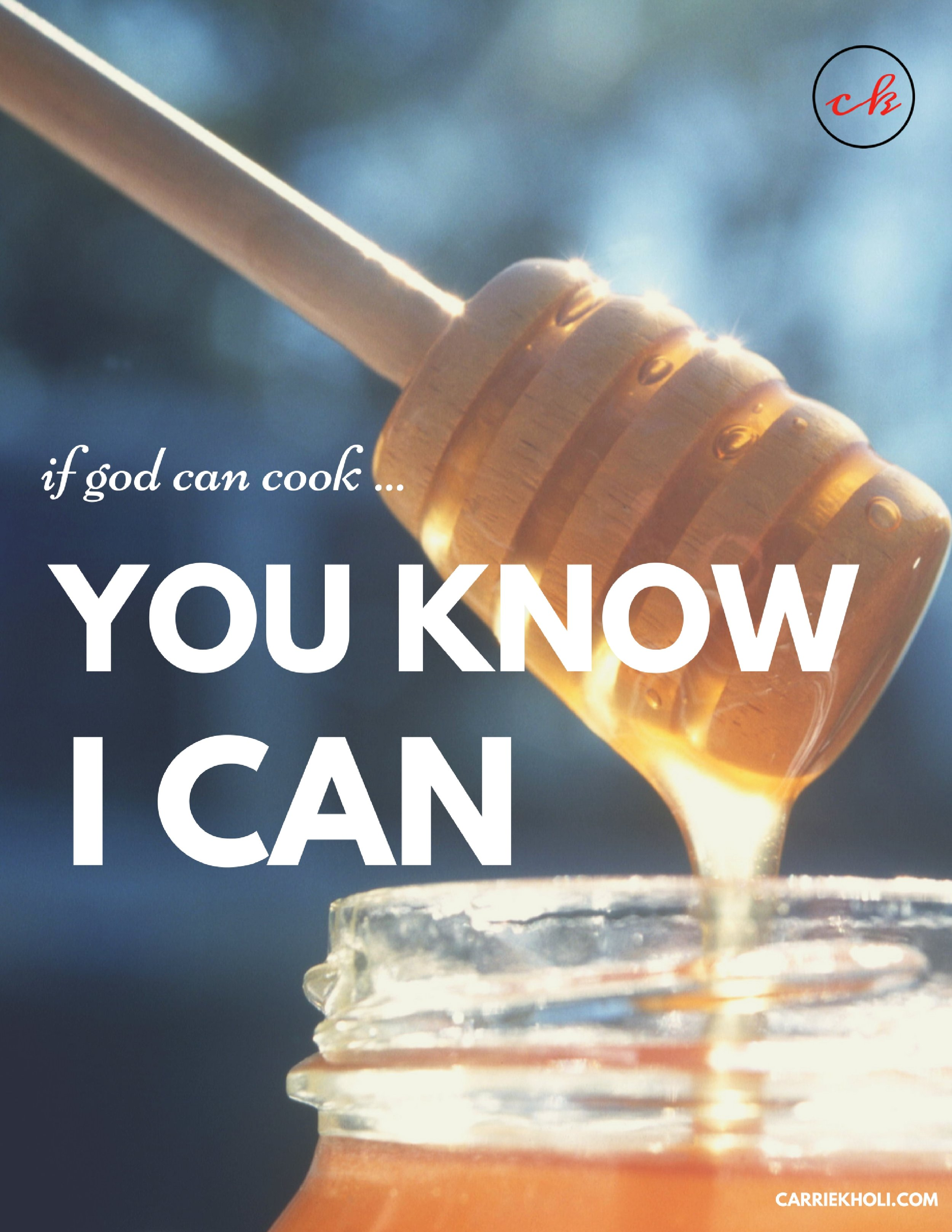 if god can cook carrie kholi