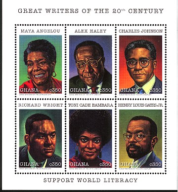 black authors world literacy stamp