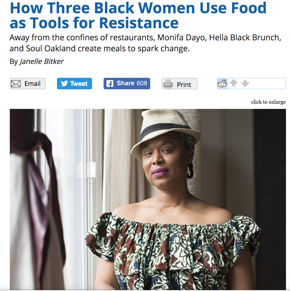 Women in Food Feature