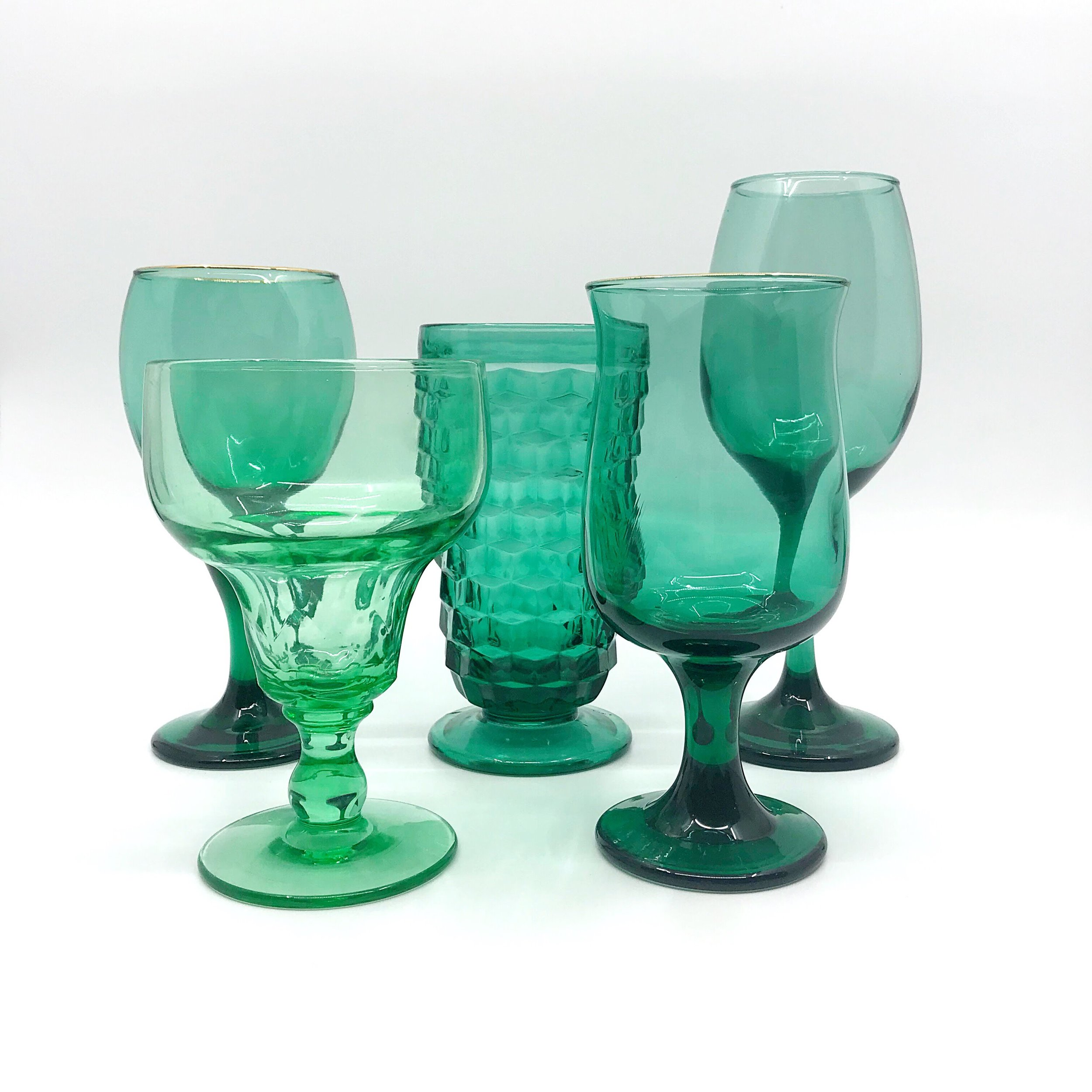 Aqua Glassware Collection