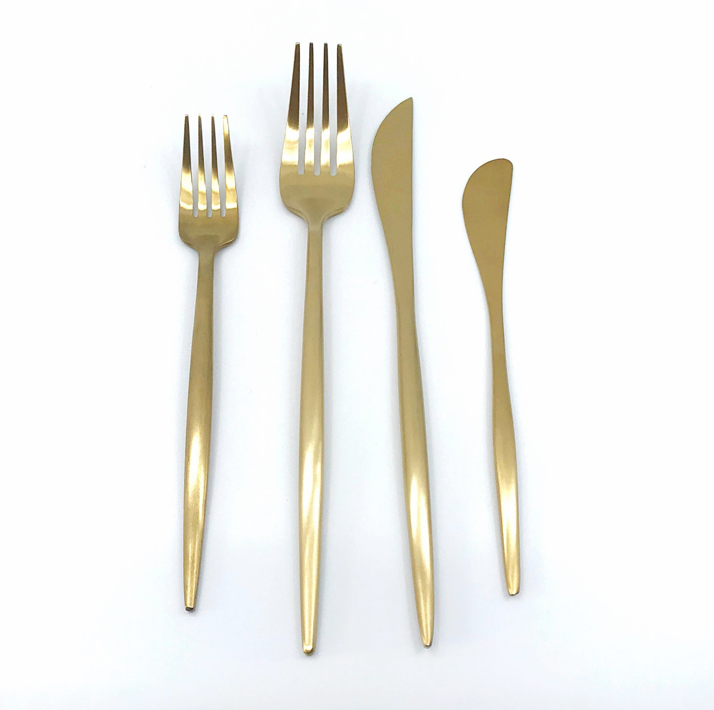 Luxe Gold Flatware