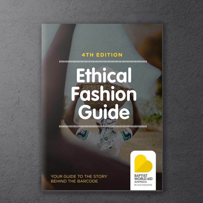 Baptist World Aid Ethical Fashion Guide 2017