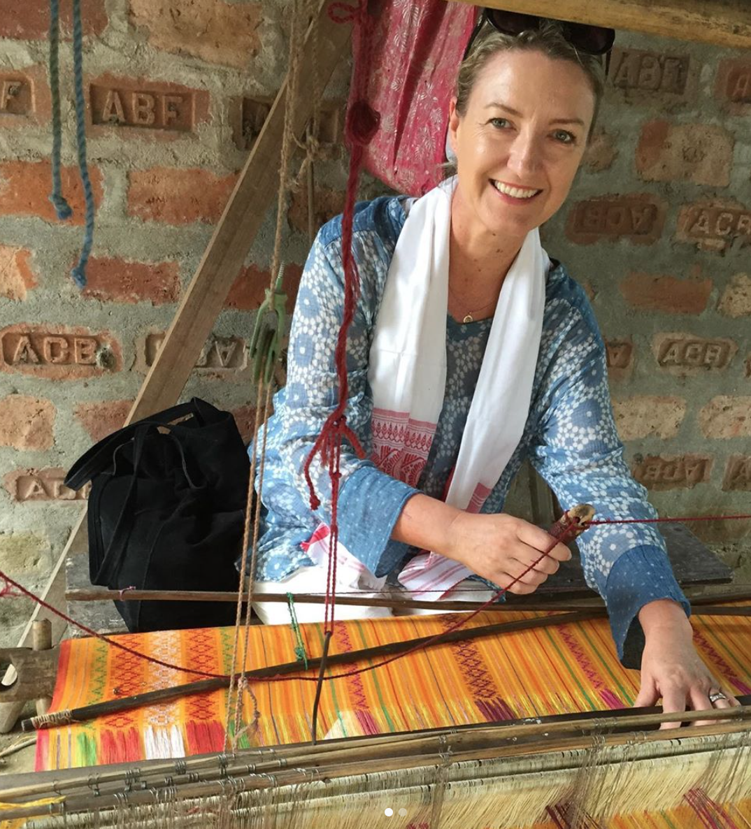 """We want to encourage people to embrace the concept of co-creation and respecting the cultural integrity of traditional craft techniques. The artisans sector intersects with issues around the environment, social justice and our global diversity."" -"