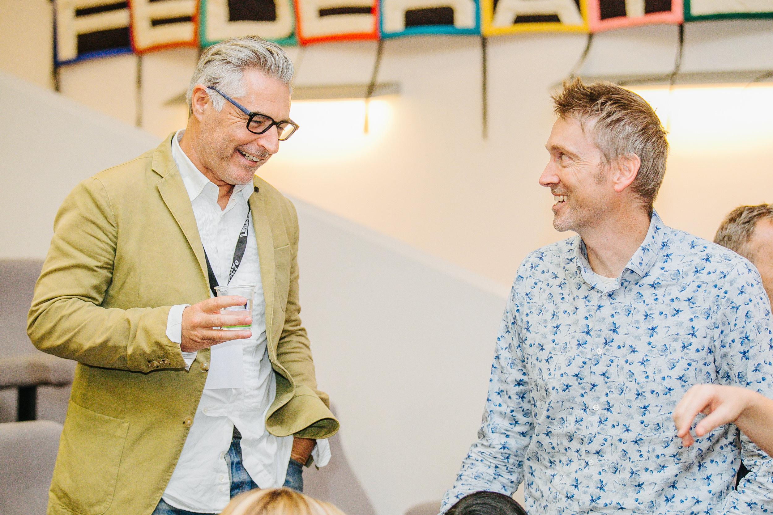 David Giles Kaye, CEO, The Australian Fashion Council & Andrew Cucurrullo Waverley Mills.jpg