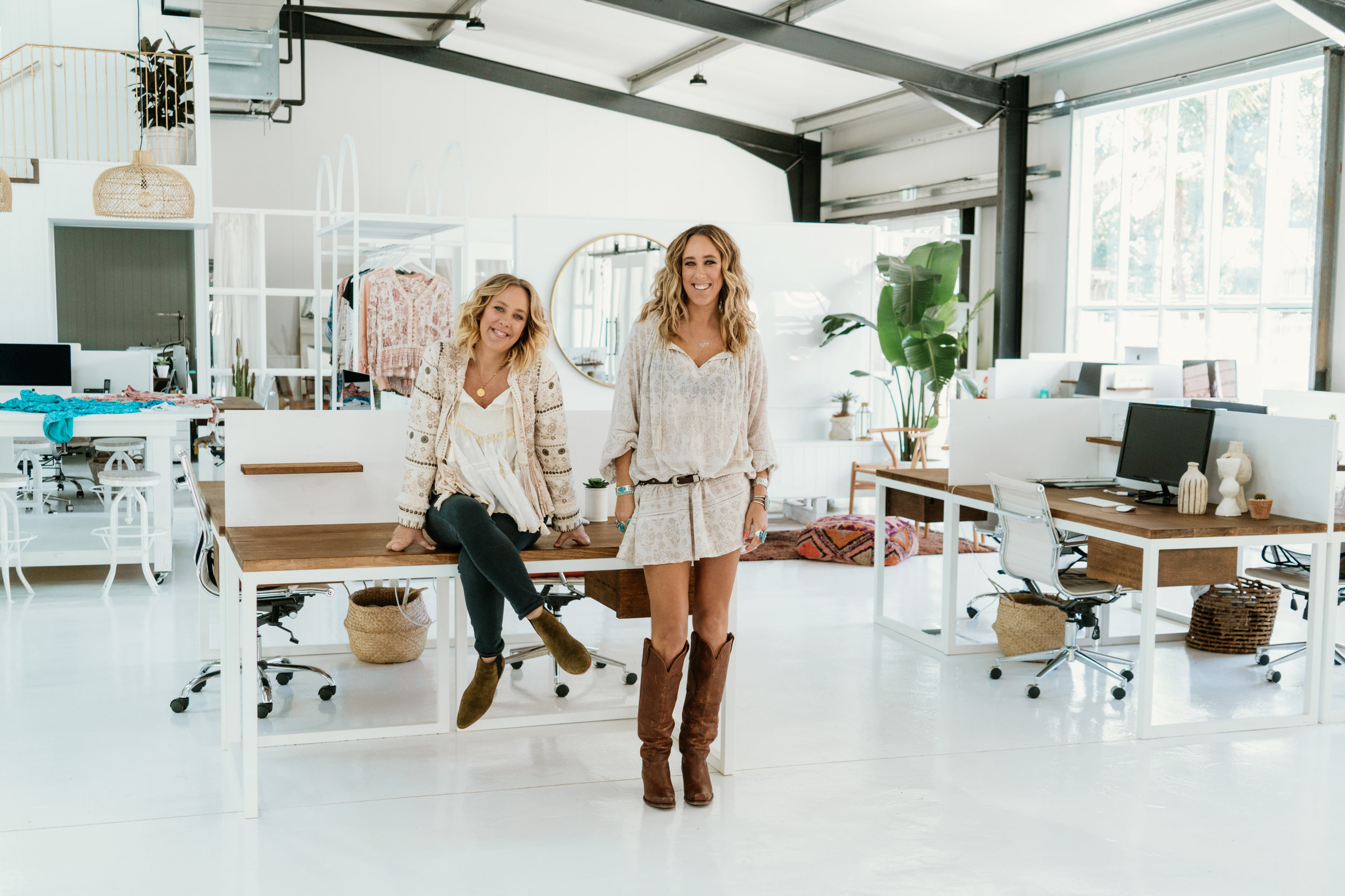 Elizabeth Abegg and Isabella Pennefather - cofounders of Spell & The Gypsy Collective