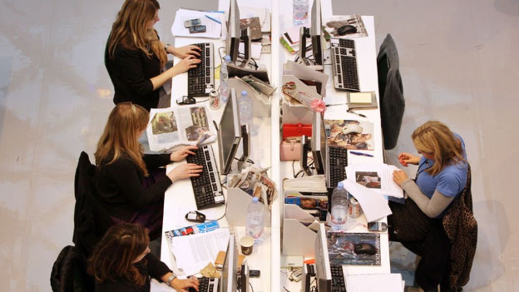 So much office work is done at a desk — we often forget to get up and just move around
