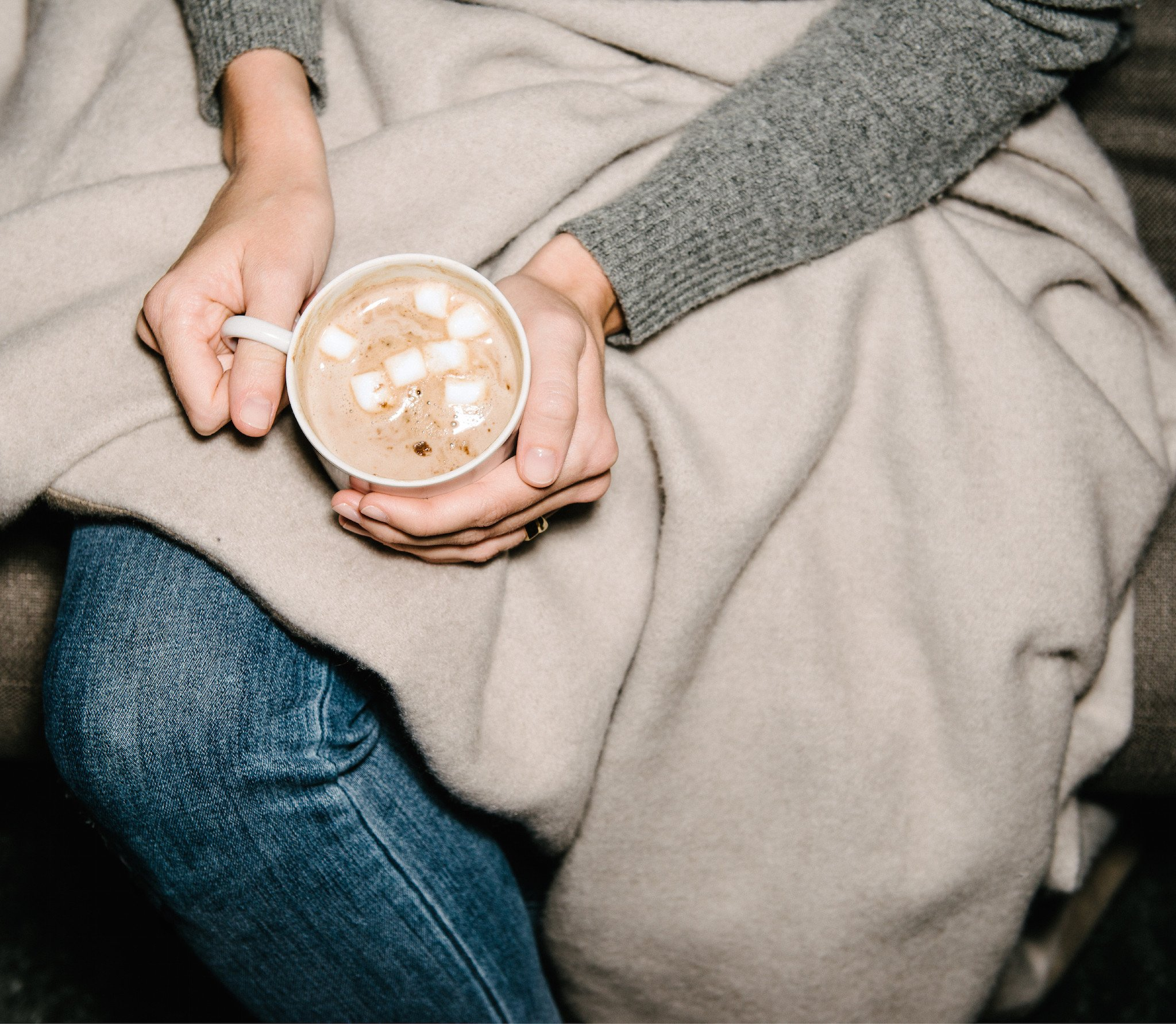 Settle down with a warm cup of cocoa and a cozy blanket, you will fall asleep in no time.