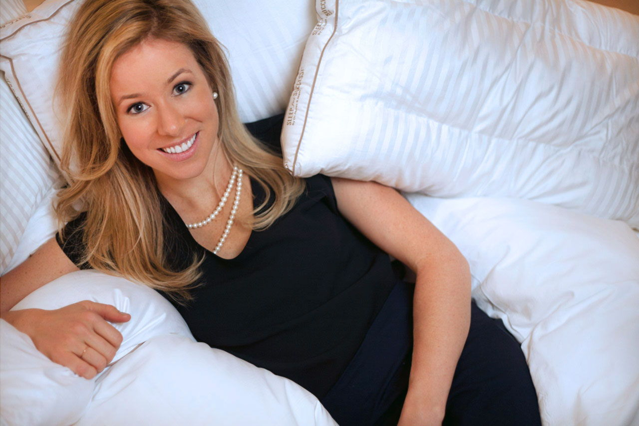 Rebecca Robbins is a Cornell sleep medicine professor and the co-author of Sleep for Success, who lectures worldwide on the latest sleep research. She was instrumental in over seeing the Benjamin Hotel's Rest & Renew program