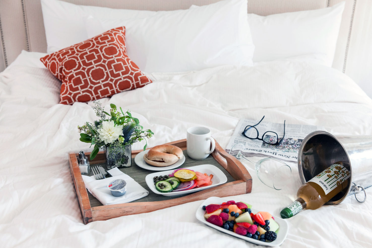 The Beds are so comfortable you may want to ensure you set an alarm or get a wake-up call - try the pillow menu and have breakfast in bed with someone special.