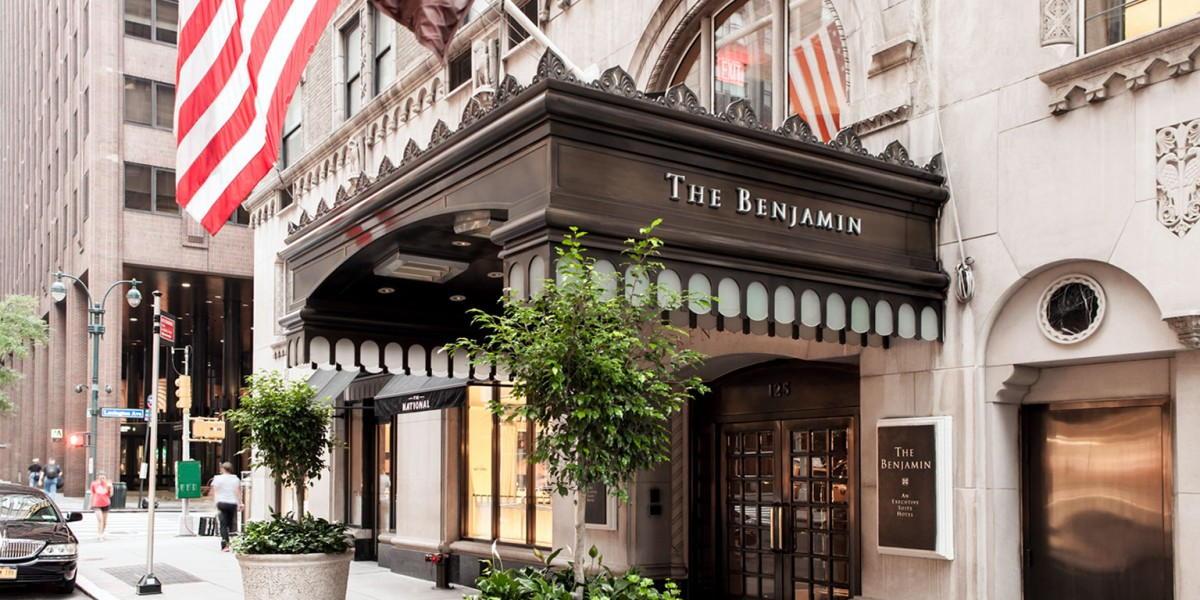 Benjamin Hotel entrance on Lex & 50th