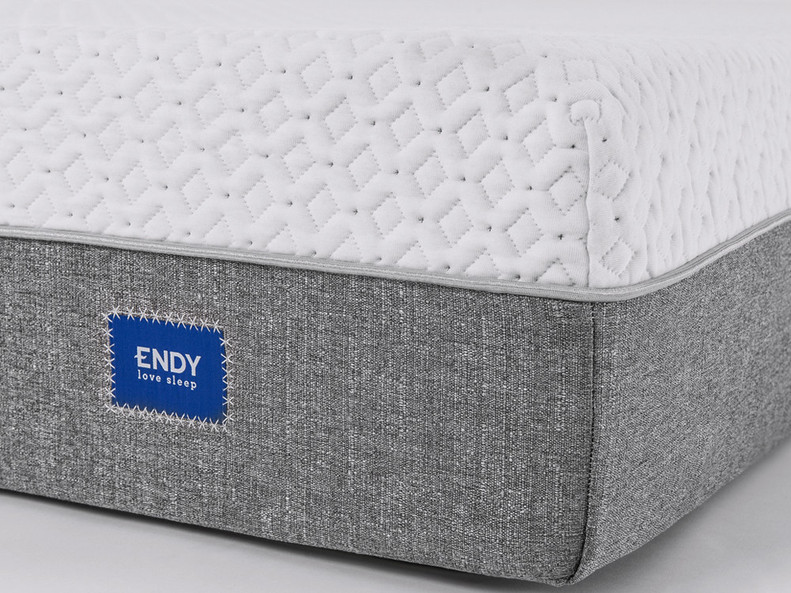 The Endy mattress has excellent edge support due to the firmer materials used. You won't feel like you are falling off the mattress.