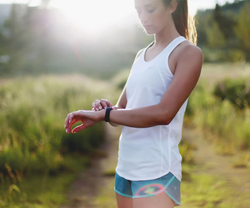 Get a Free Vue wearable when you pay annually. Then track your workouts, steps, calories plus monitor your sleep.