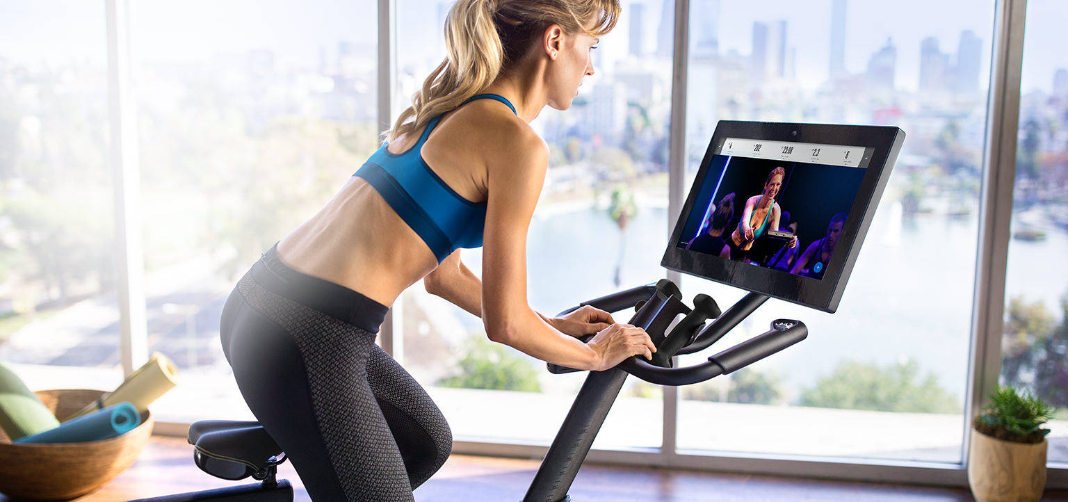 You can enjoy the convenience of working out on your own schedule in your home with the excitement and energy of live studio.