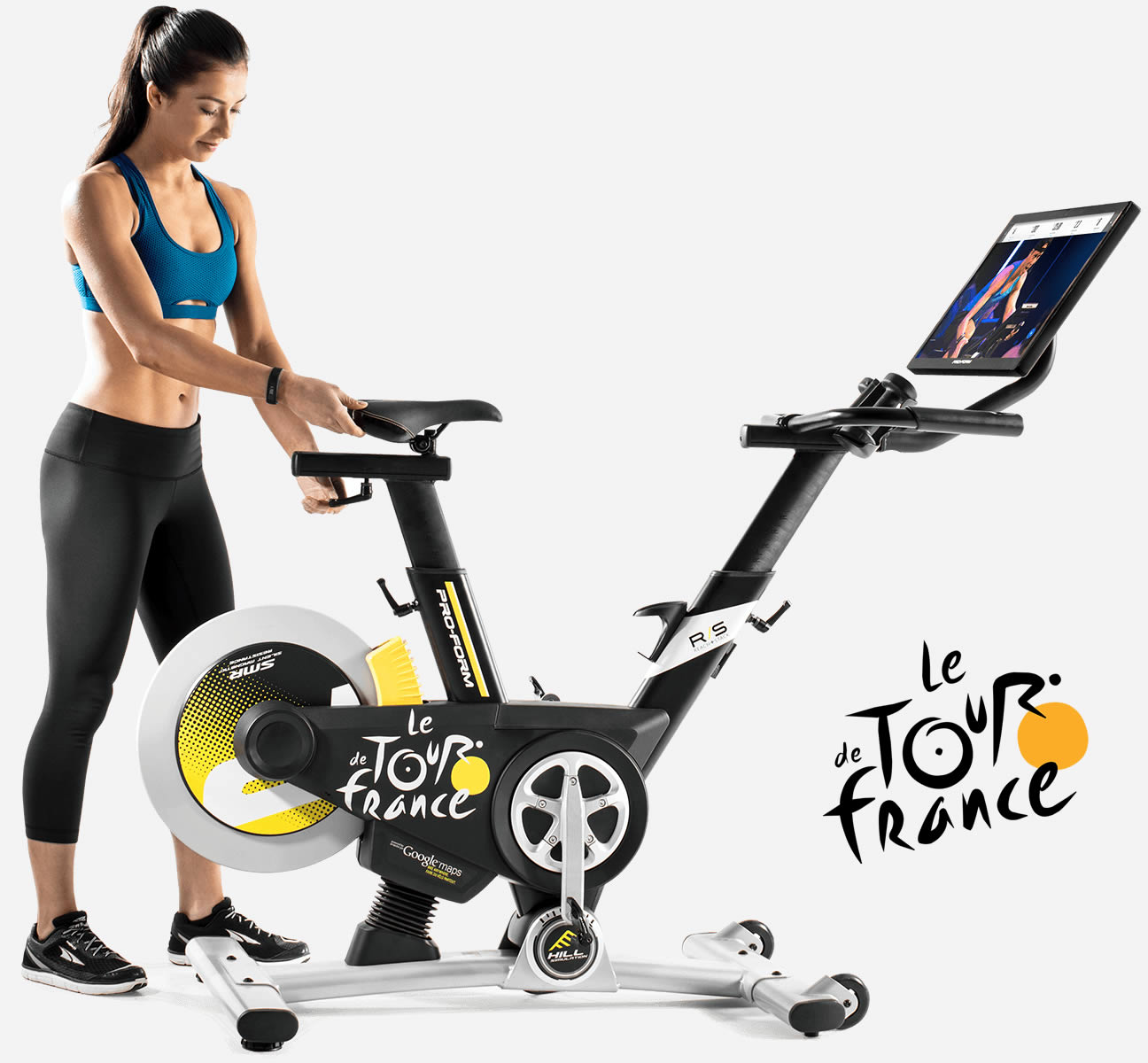 TDF Pro Bike is a great addition to a fitness program, especially with the inclusion of iFit Coach over 800 workouts, recipes and fitness recommendations.