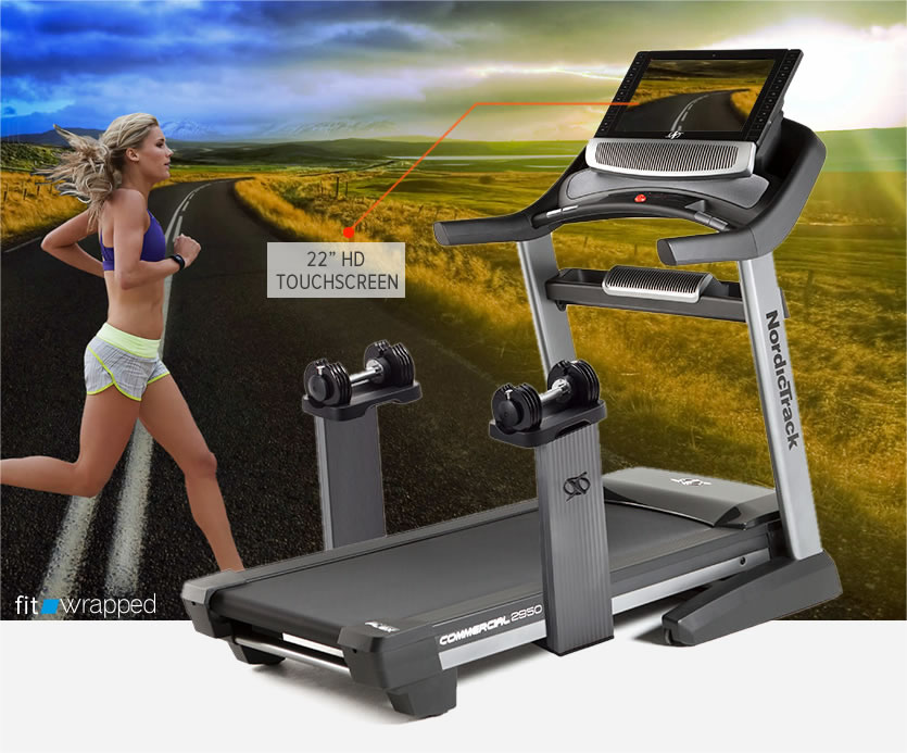 NordicTrack Commercial 2950 Treadmill Review with 22