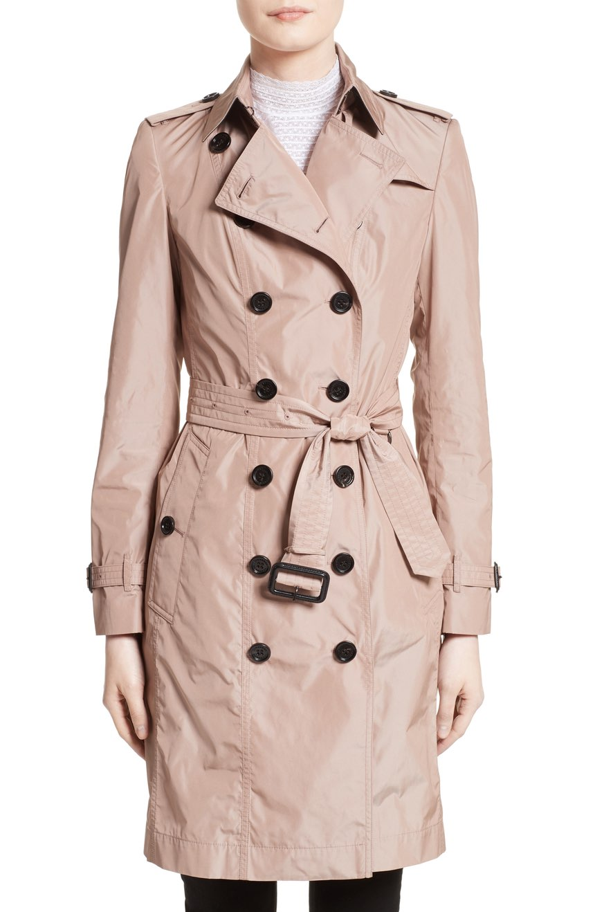 Pretty in Pink to keep dry during spring showers $1,595