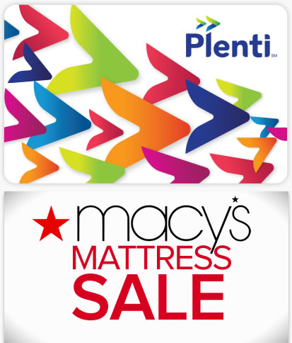You can register for a Plenti rewards card for free or get points if you have already signed up for your mattress purchase. Macy's holds   sale events   throughout the year that feature special discounts on mattresses.