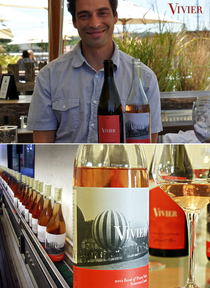 STÉPHANE VIVIER AND HIS WIFE DANNA HAVE THEIR OWN VINEYARD WHERE THEY PRODUCE 150 CASES OF VIVIER EACH YEAR