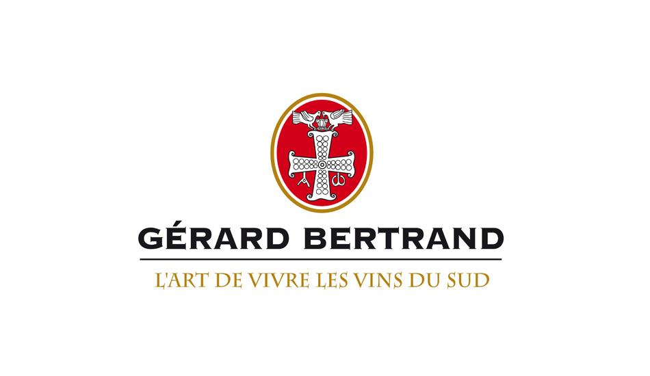GERARD BERTRAND'S COAT OF ARMS REFLECTS A COMMITMENT TO THE ART OF LIFE REFLECTION FROM THE EMOTIONS AND IMAGES EVOKED FROM THE BEAUTY OF SOUTH OF FRANCE
