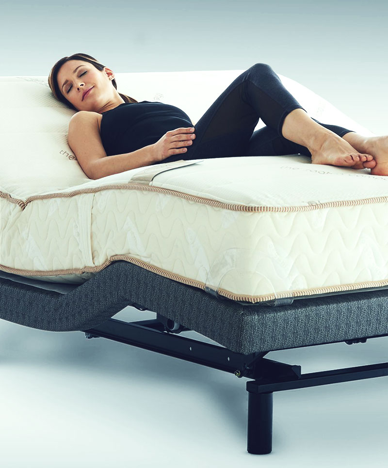 ADJUSTABLE BASE  EXCLUSIVELY MADE FOR ZENHAVEN  BY THE SAAVTA COMPANY