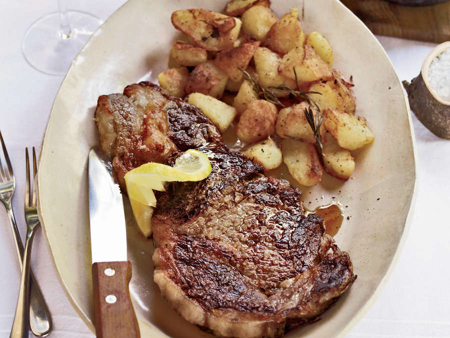 GRILLED RIBEYE STEAK IS AN EXCELLENT CHOICE TO PAIR WITH LOVE ROSÉ COURTESY: FOOD&WINE