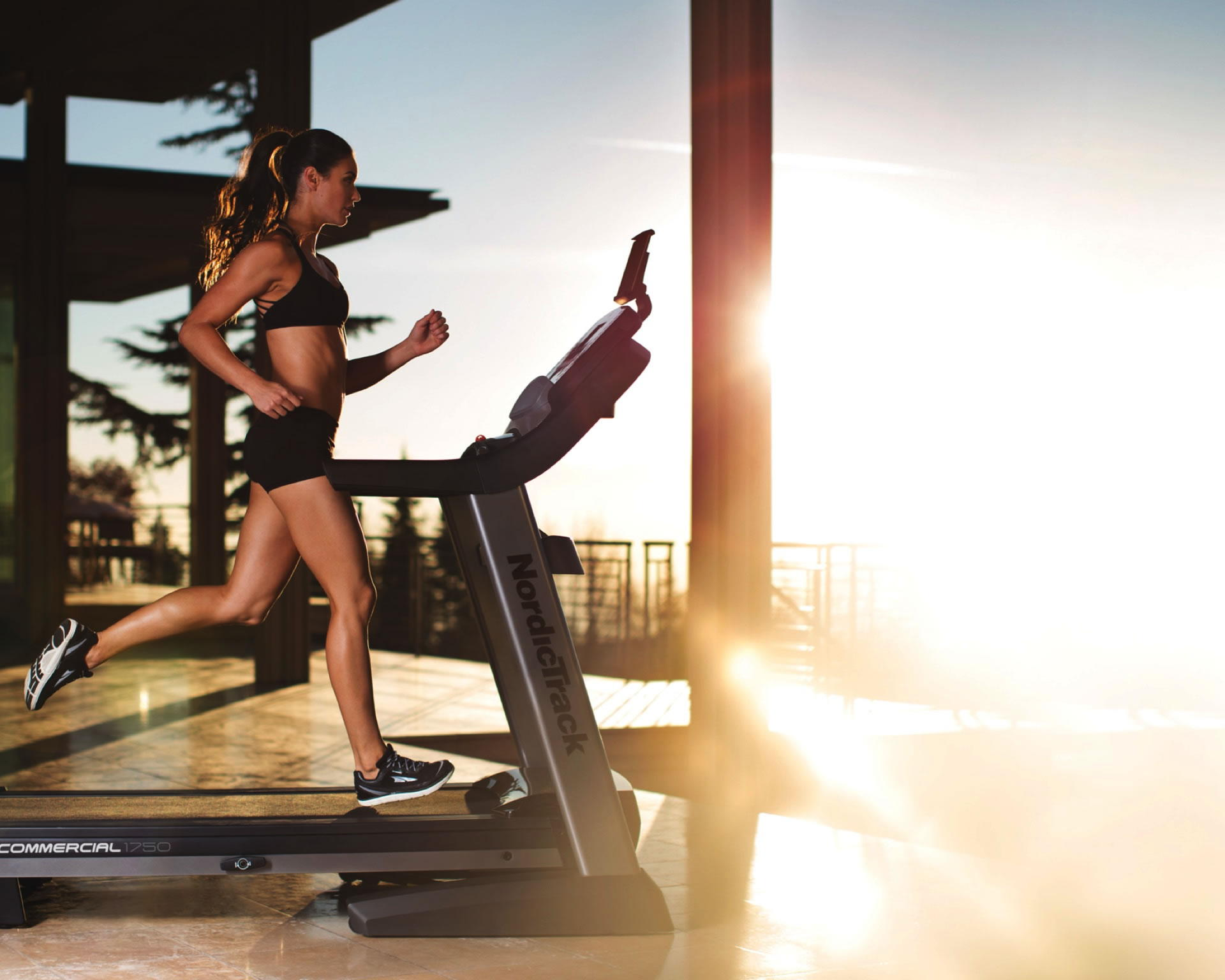 The Commercial 1750  is the best selling Nordictrack treadmill, now on sale for $1,799